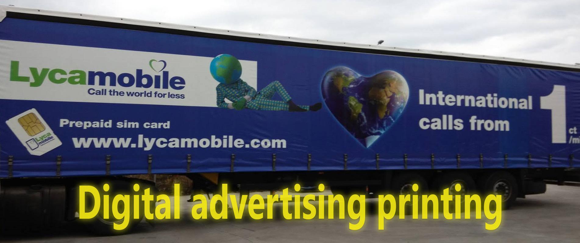 Digital Advertising Printing