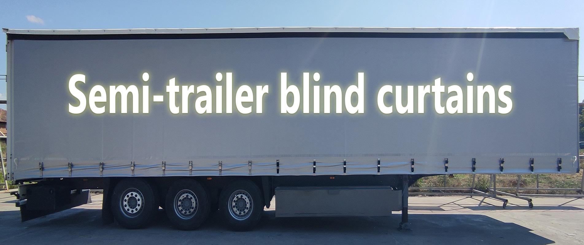 Semi-trailer curtains