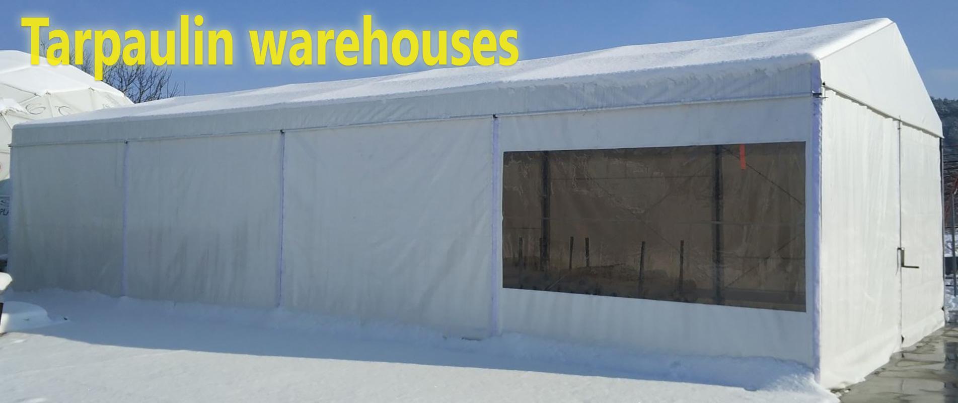 Tarpaulin Warehouses