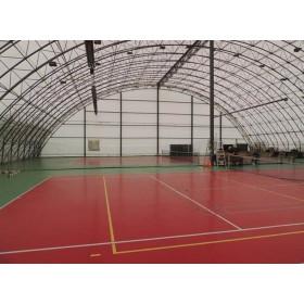 Tarpaulin sports halls