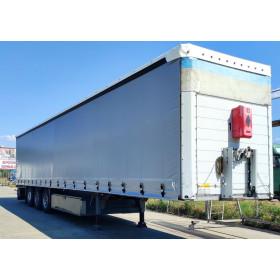 Semi-trailer blind curtains