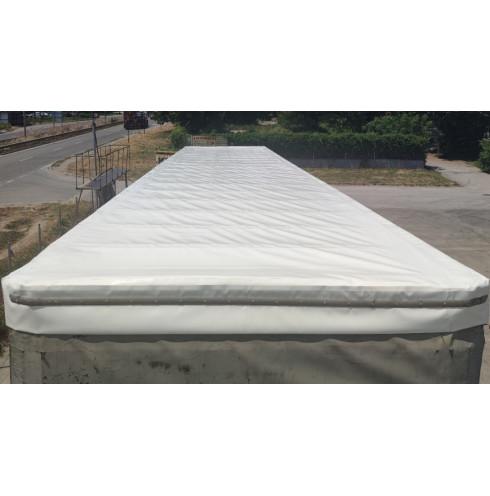 Tarpaulin for sliding roof