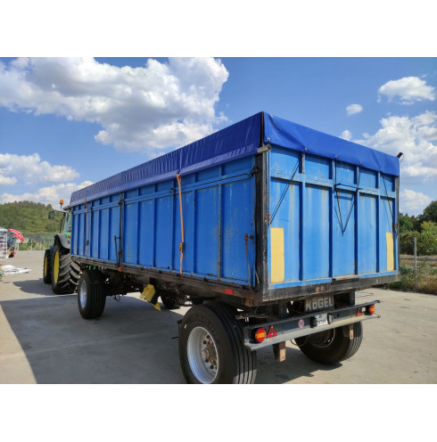 Tarpaulin for tractor trailer