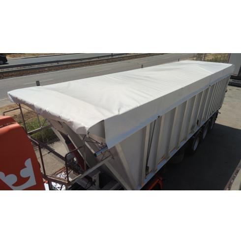 Tarpaulin for grain truck or gondola