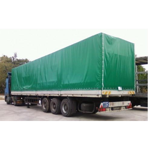 Common tarpaulin for semi-trailer